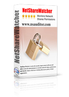 NetShareWatcher monitors network shared folders and permissions.