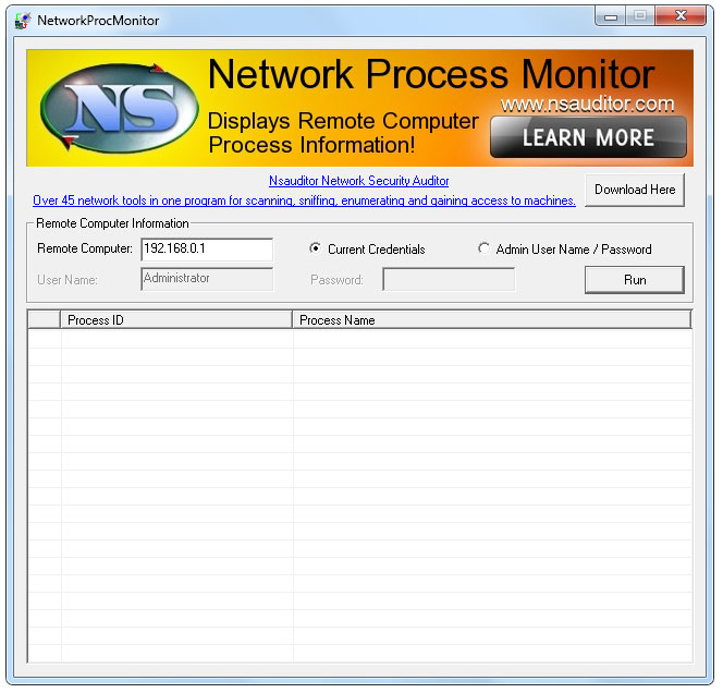 NetworkProcMonitor